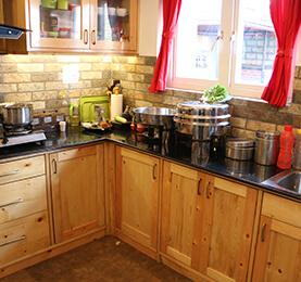 Spruce Pine Fir Kitchen Space