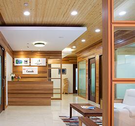 Spruce Pine Fir Interior