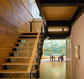 Western Hemlock Wood Stair | Canadian Wood