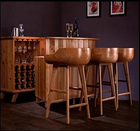 Douglas Fir Planks for Bar Counter - Canadian Wood