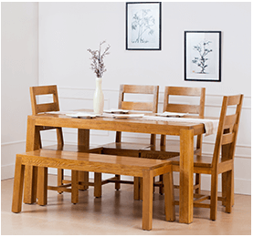 Western Hemlock Chair & Table | Lumber From British Columbia