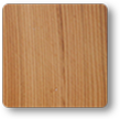 Natural Finish Dead matte - Western Red Cedar