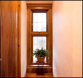 Spruce Pine Fir Window