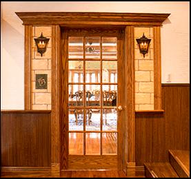 Spruce Pine Fir Door Frame