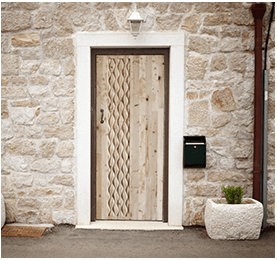 SPF Plywood for Grey Door Frame