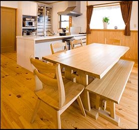 Spruce Pine Fir Dining Table