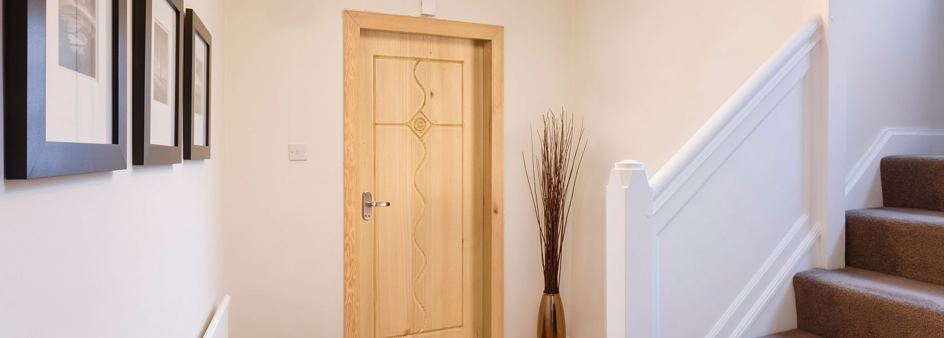 Western Hemlock Wooden Door - Canadian Wood