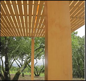 Yellow Cedar False Ceiling