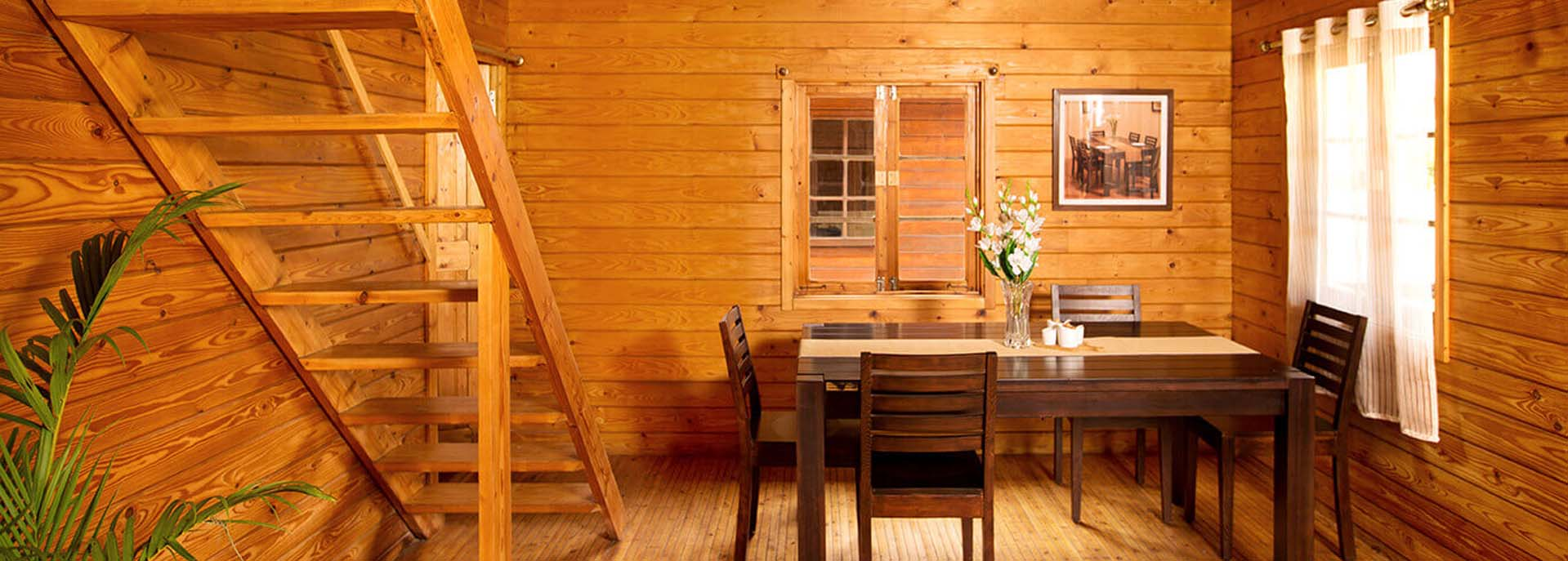 Yellow Cedar Uses in a Dining Room