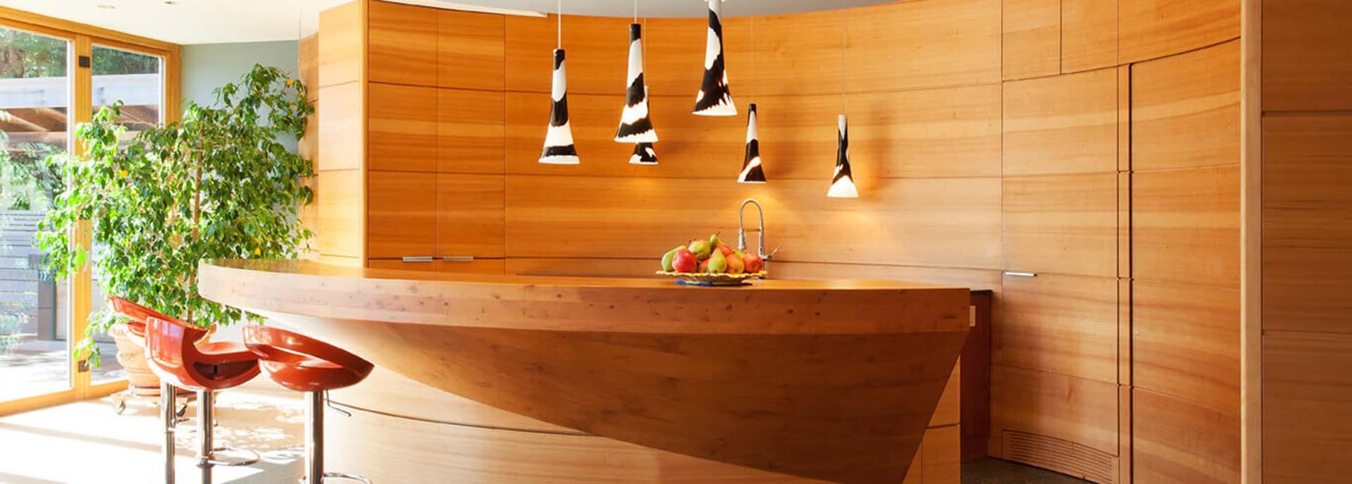 Douglas Fir Wood for Kitchen