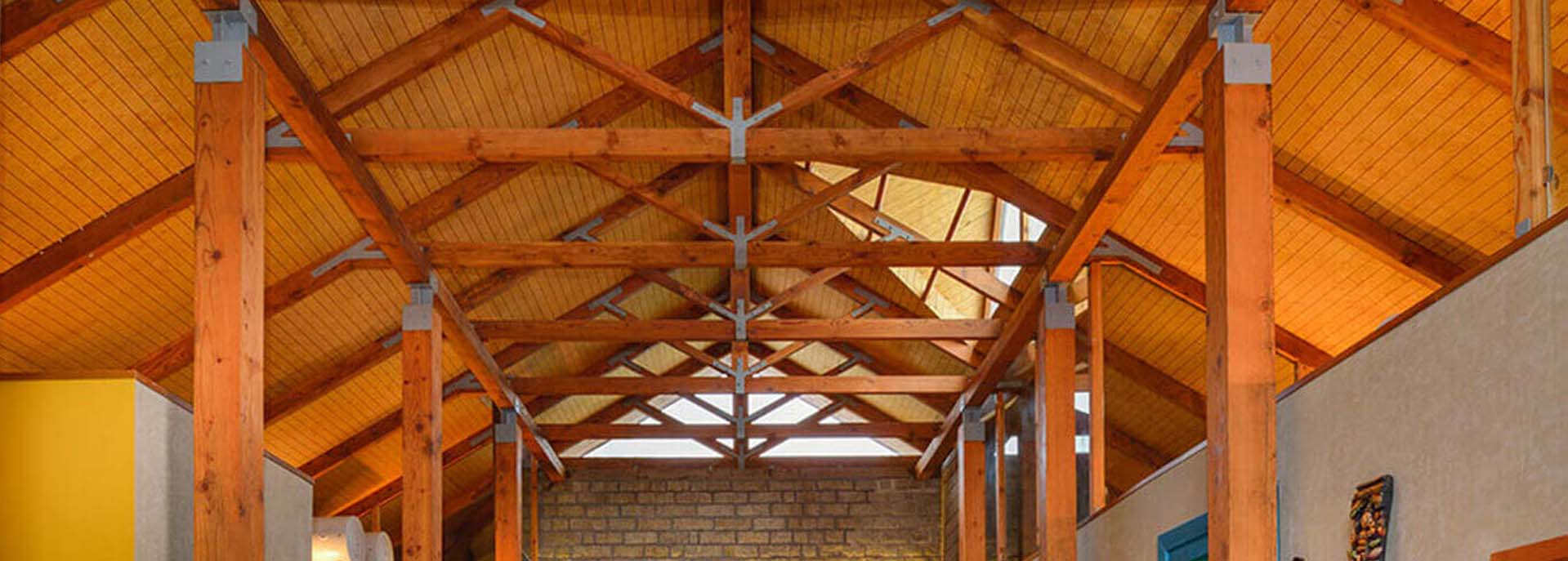 Douglas Fir for Roof Trusses