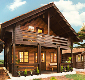 Spruce Pine Fir WoodenHouse