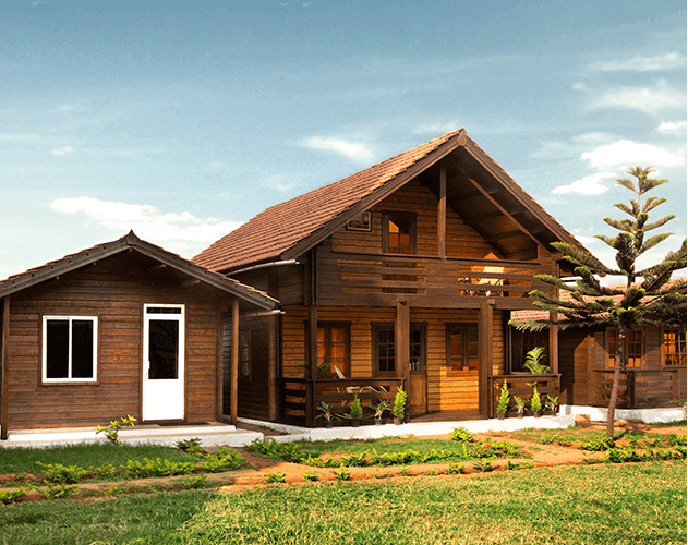 9 Wooden Homes, Bengaluru<abbr>SPF pre-fab home</abbr>