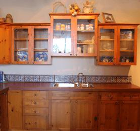 Spruce Pine Fir Kitchen Wall Shelves