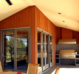Western Red Cedar Wood Interior