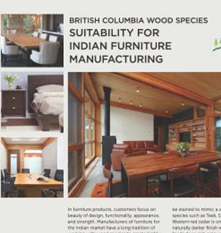 Western Hemlock Lumber for Furniture