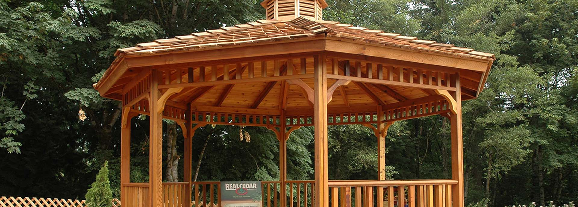 Western Red Cedar Gazebo | Canadian Wood