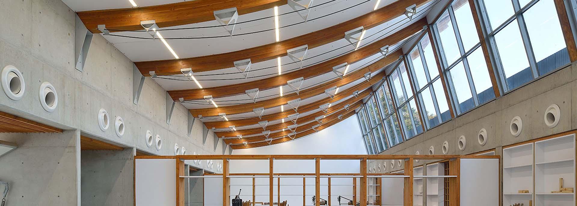 Douglas Fir False Ceiling | Canadian Wood