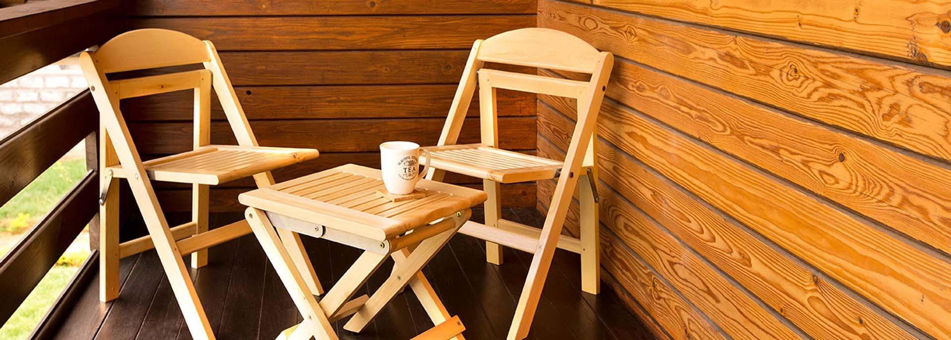 Yellow Cedar Wood Chairs - Canadian Wood