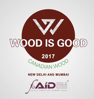 Wood is good design competition 2017 - Mumbai