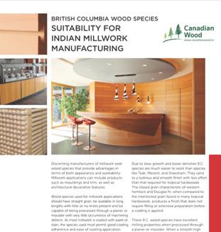 Yellow Cedar uses for Wood Interiors