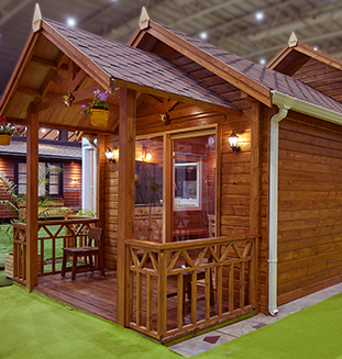 Double Tongue & Groove Construction  at IndiaWood exhibition 2020, Bengaluru
